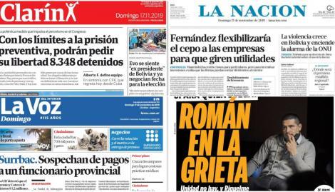 Los alcances de los límites a la prisión preventiva, en las tapas de los diarios argentinos