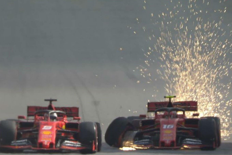 Fórmula 1. Max Verstappen se consagró en Brasil, pero las miradas se quedaron en el toque entre Leclerc y Vettel