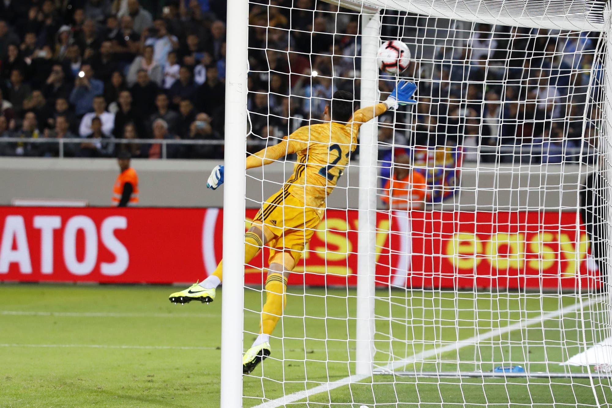 Selección argentina: Esteban Andrada debía subir un escalón, pero retrocedió dos pasos