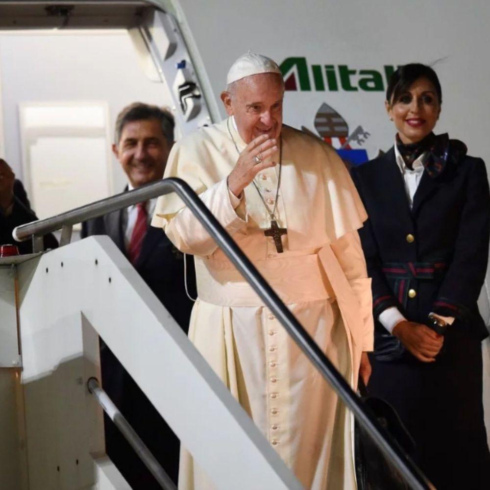 """Francisco sobre cuándo viajará a la Argentina: """"Pregúnteselo al Padre Eterno"""""""