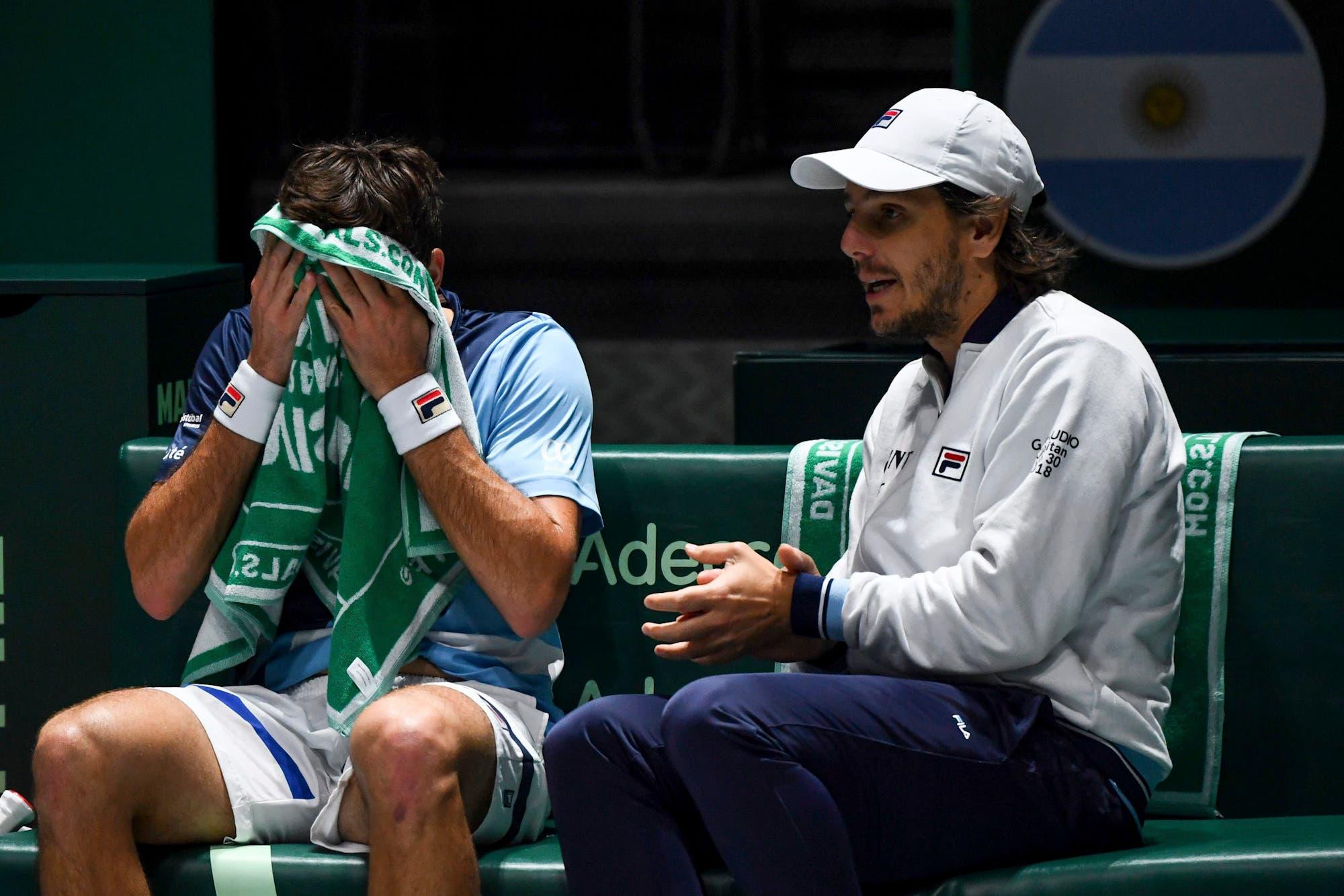 Argentina-Alemania, Copa Davis: Pella cayó en el primer partido ante Kohlschreiber y juega Schwatzman