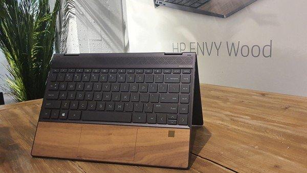 Así luce la primera notebook premium de HP con diseño en madera
