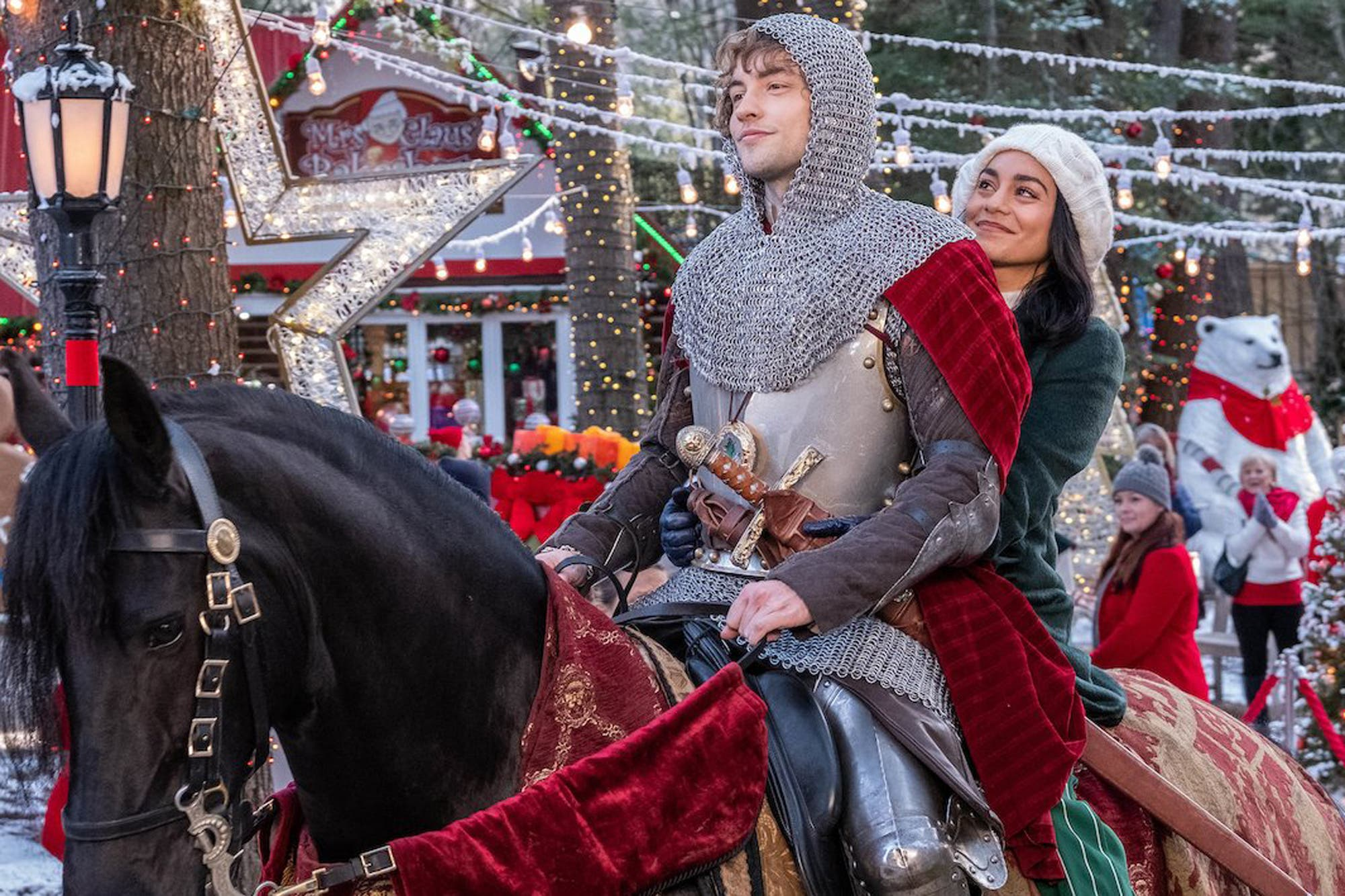 Netflix: El caballero de Navidad es un romance tan tierno como ridículo