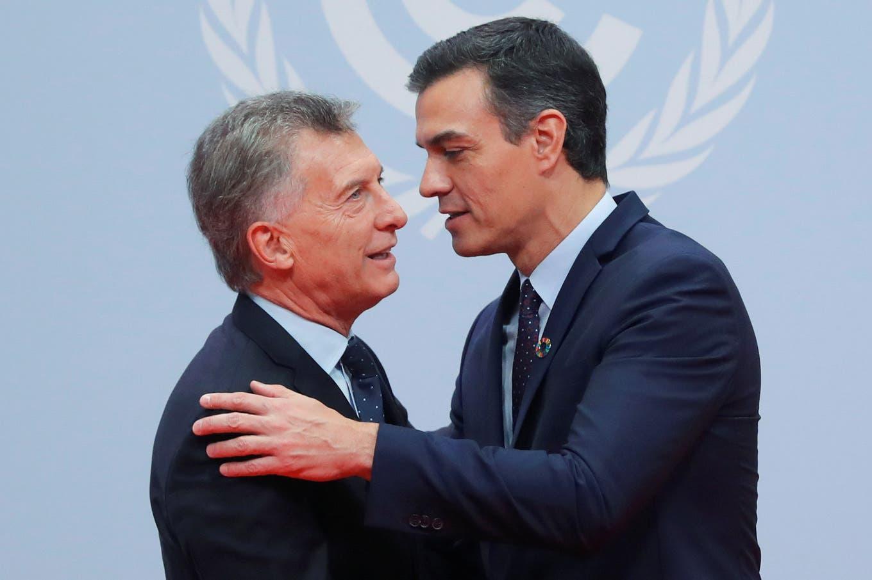 Macri ya está en Madrid: la agenda en la COP25, su último viaje como presidente