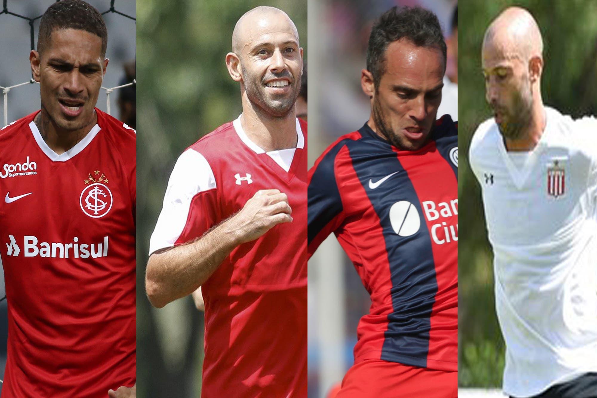 Los Sub 40 de la Superliga: Mascherano, Belluschi, Guerrero…, ¿qué tienen los veteranos?