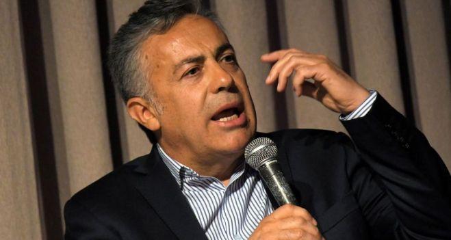 "Cornejo, duro con el kirchnerismo: ""Representan al sector parasitario"""