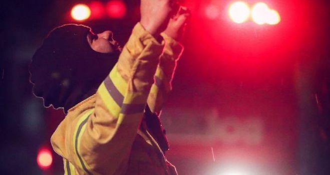 """La enorme emoción de los bomberos por el """"milagro"""" de las lluvias en Córdoba"""