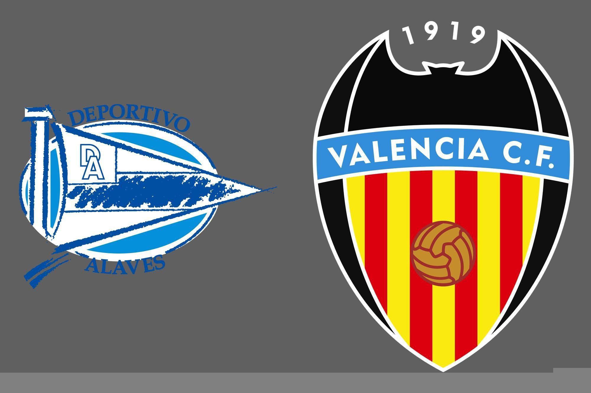 Liga de España: Alavés y Valencia empataron 2-2