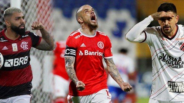 Cómo llegan los equipos brasileños que enfrentarán a River, Racing y Boca en la Copa Libertadores