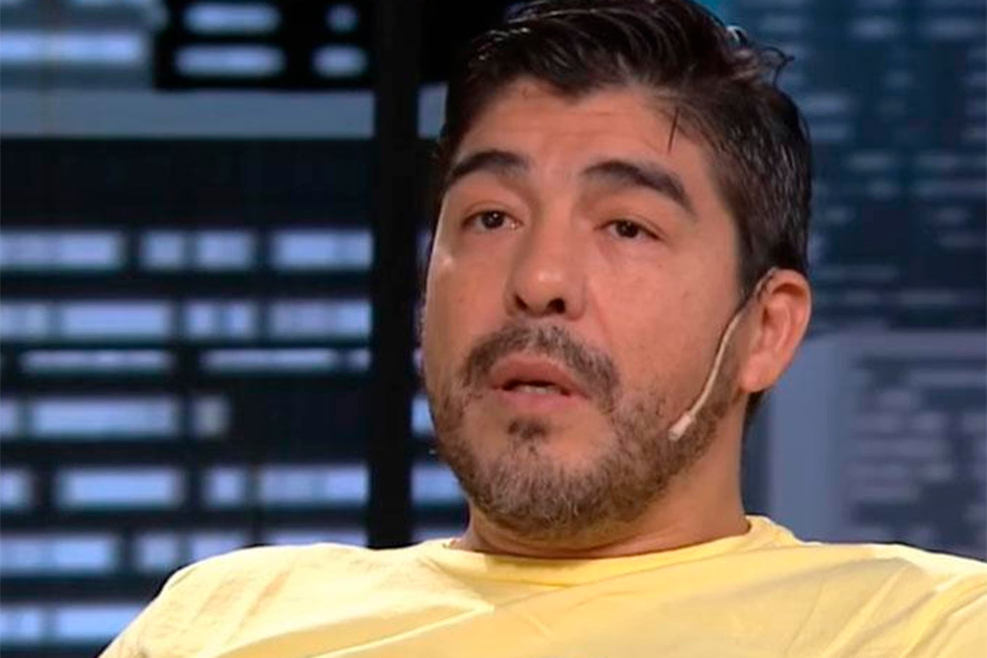 """Chino Maradona: """"Mi corazón siente que mi tío bajó los brazos"""""""