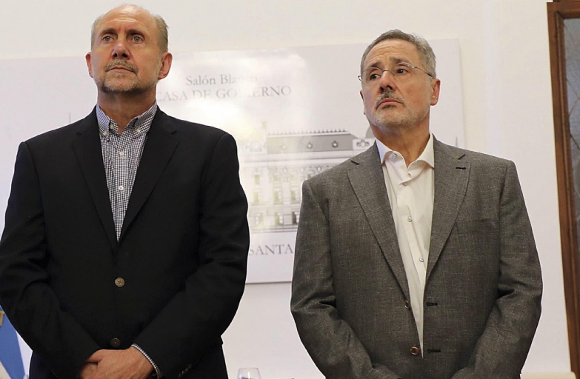 El gobernador de Santa Fe, Omar Perotti, tiene coronavirus