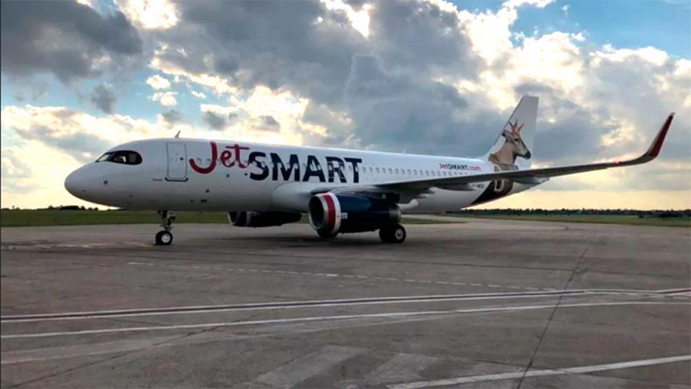 Una low cost inició vuelos regulares de Buenos Aires a El Calafate