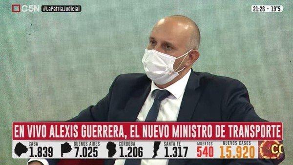 """alexis-guerrera-debuto-en-su-cargo-con-la-hidrovia:-""""hace-seis-meses-los-argentinos-no-tenian-ni-idea-de-que-era"""""""