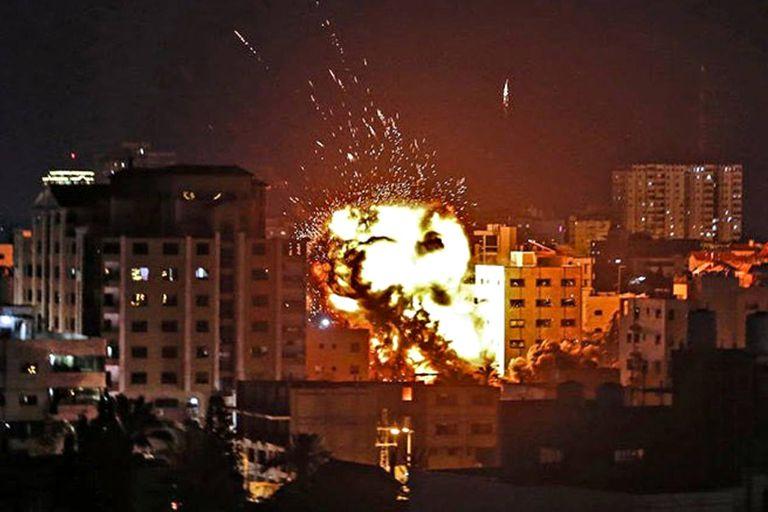 por-un-bombardeo-israeli,-murieron-diez-personas-de-la-misma-familia-en-gaza