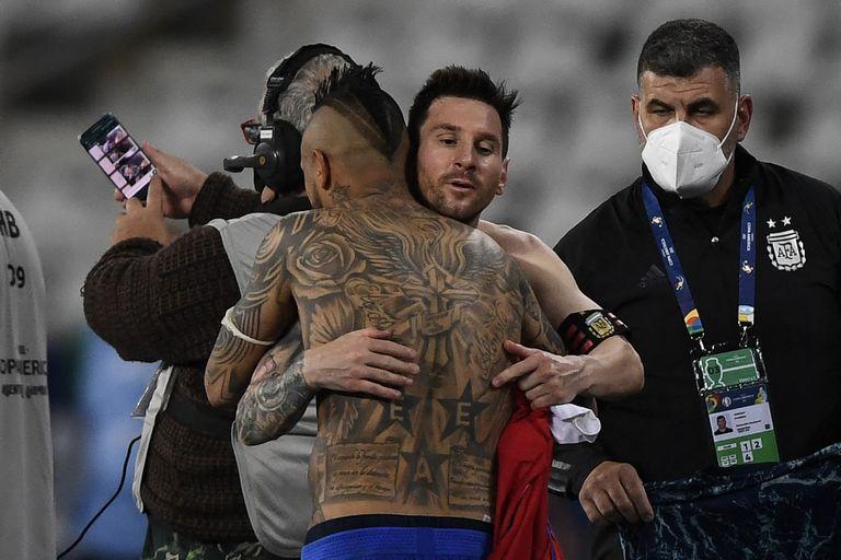 argentina-–-chile:-la-seleccion-hizo-el-mayor-esfuerzo,-pero-no-pudo-pasar-del-1-a-1-en-su-debut-en-la-copa-america